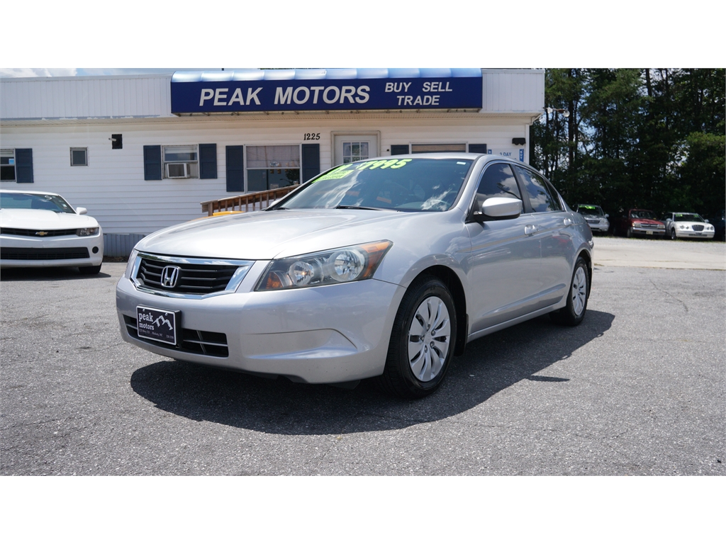 2009 Honda Accord LX Sedan AT for sale by dealer