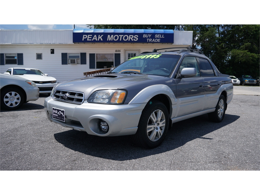 2005 Subaru Baja Turbo for sale by dealer