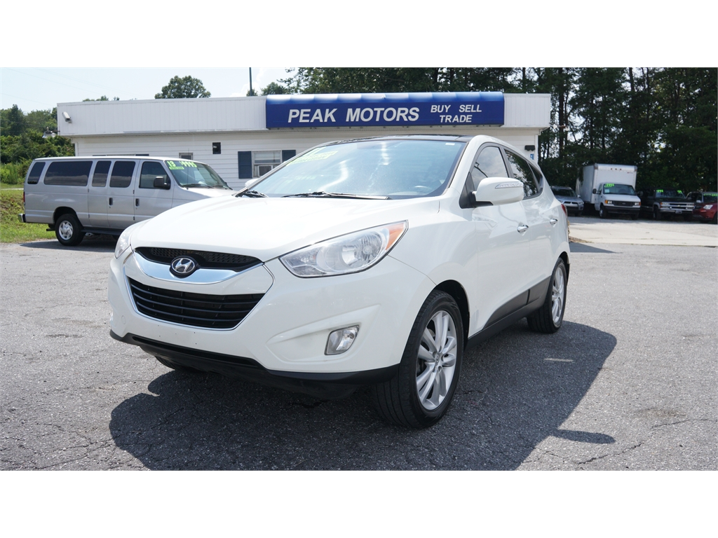 2011 Hyundai Tucson Limited Auto AWD for sale by dealer