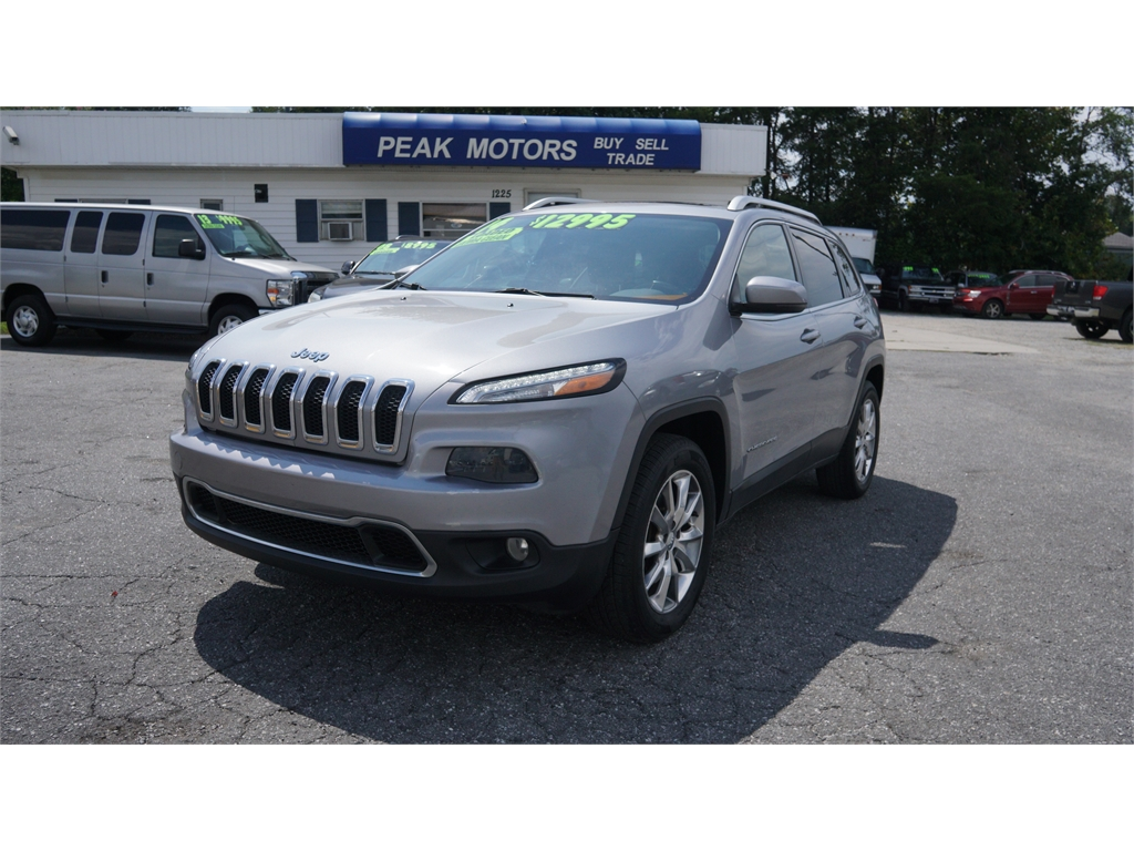 2014 Jeep Cherokee Limited 4WD for sale by dealer