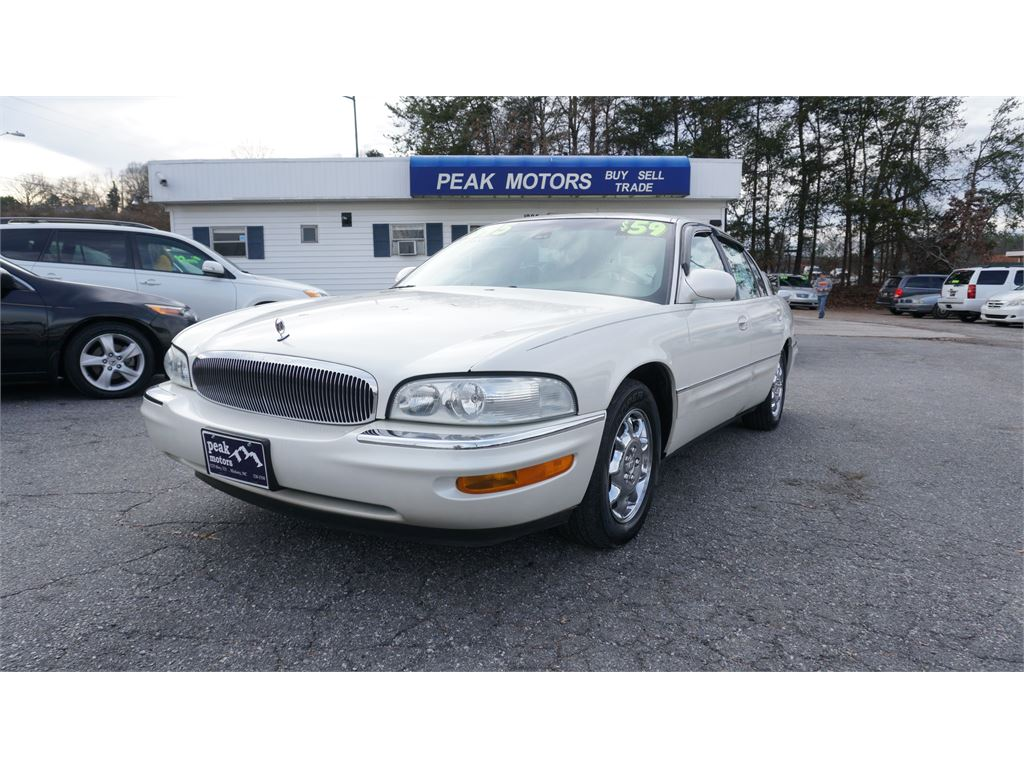 2002 Buick Park Avenue Limited for sale by dealer