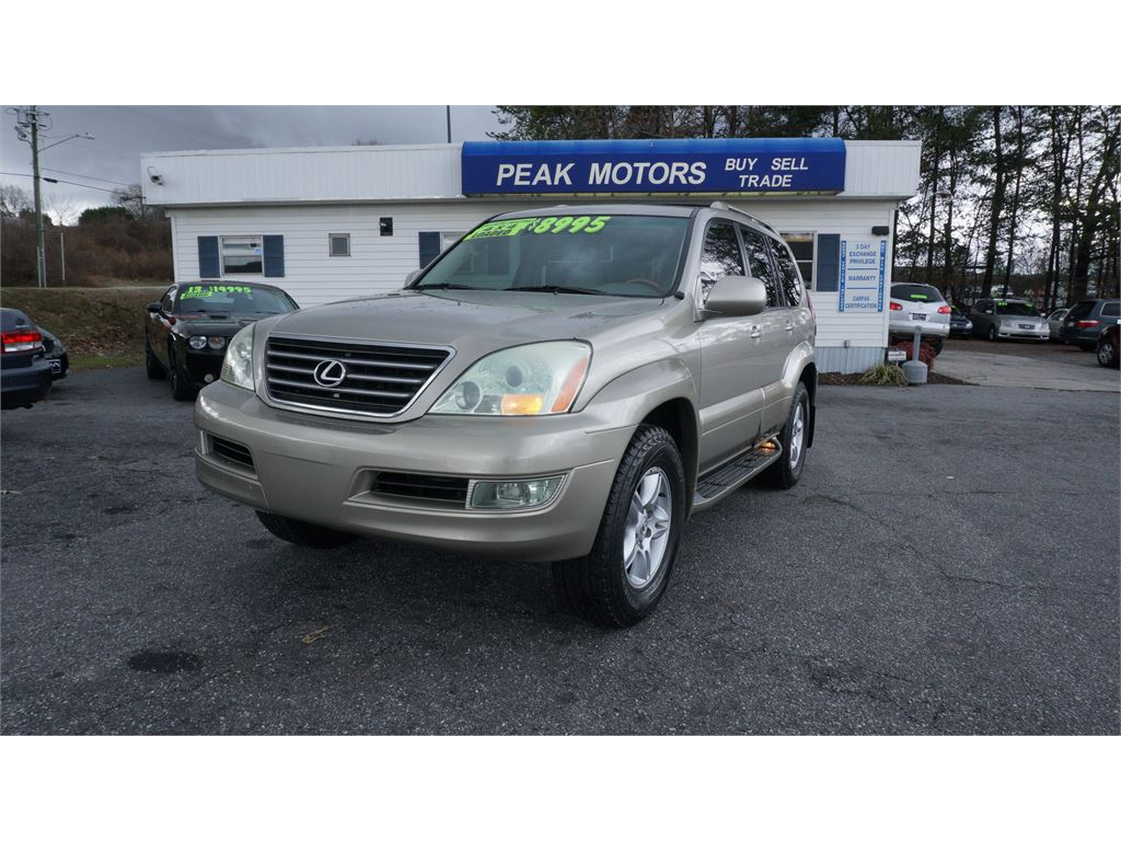 2004 Lexus GX 470  for sale by dealer