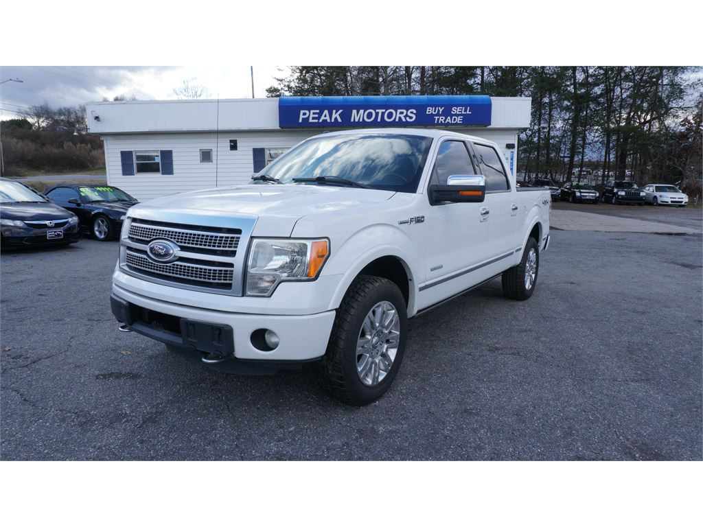 2012 Ford F-150 Platinum SuperCrew  for sale by dealer