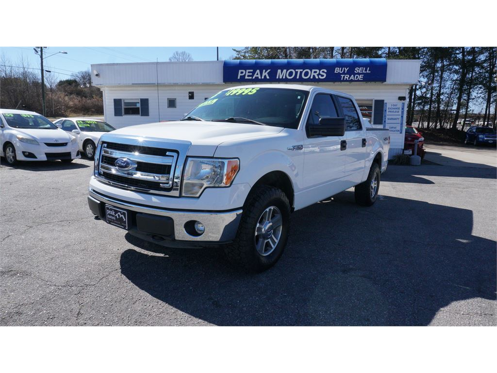 2013 Ford F-150 XLT SuperCrew 6.5-ft 4WD for sale by dealer