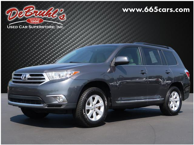 2013 Toyota Highlander for sale by dealer
