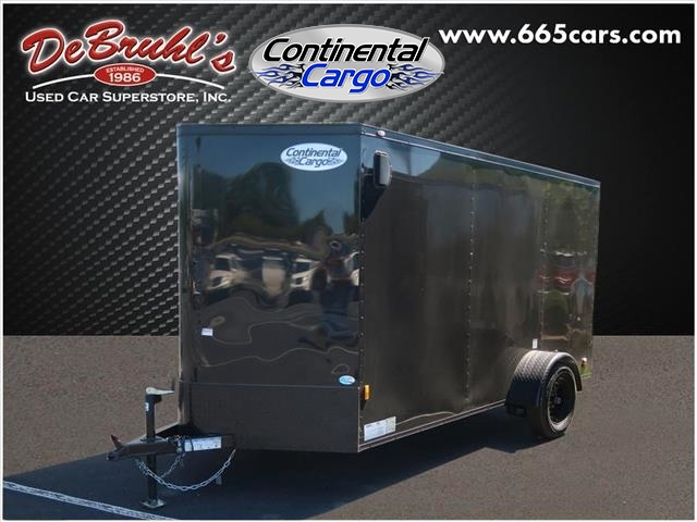 2020 Continental Cargo 6X12 SA Cargo Trailer Blackout Edition (New) for sale by dealer