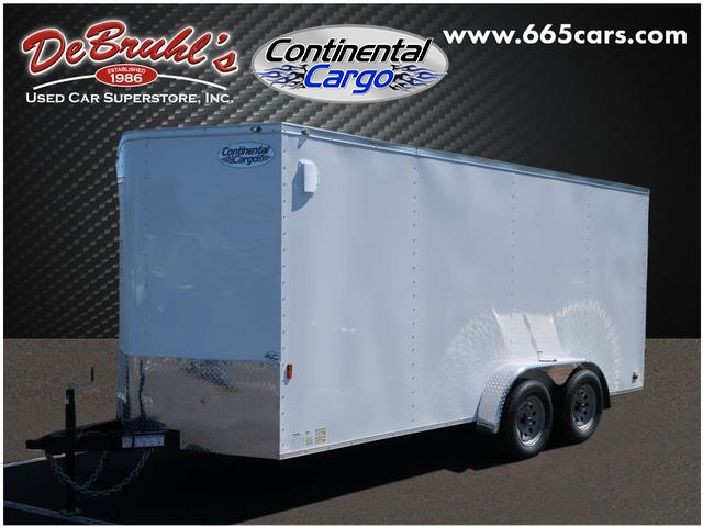 2020 Continental Cargo 7X16 TA2 Cargo Trailer (New) for sale by dealer