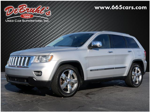 2011 Jeep Grand Cherokee Overland for sale by dealer