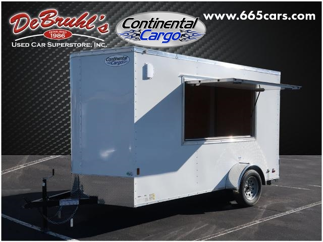 2021 Continental Cargo CC612SA CONCESSION* Cargo Trailer (New) for sale by dealer