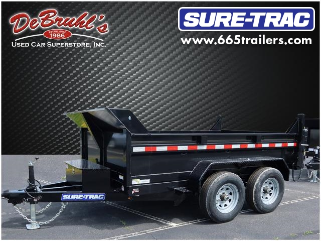 2021 Sure-Trac 6X10  10K SINGLE RAM Dump Trailer (New) for sale by dealer