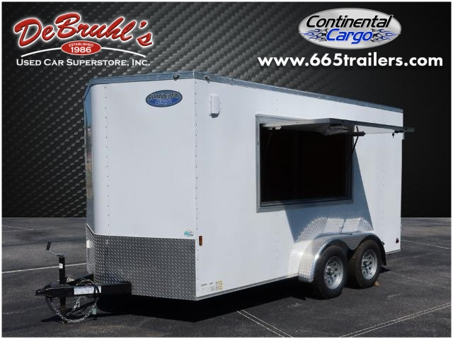 2022 Continental Cargo Cc7x14 Ta Concession Cargo Trailer (New) for sale by dealer