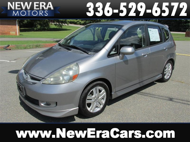 2007 Honda Fit Sport 5-Speed Cheap! Winston Salem NC