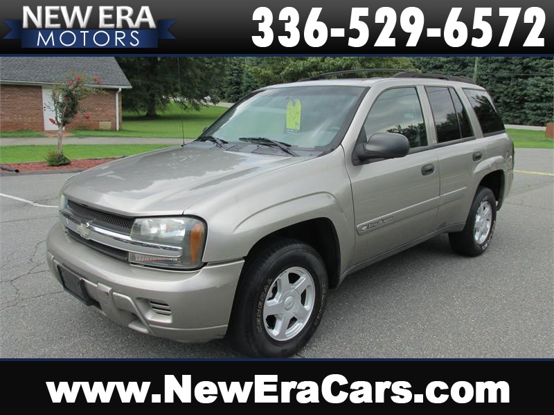 2002 Chevrolet TrailBlazer LS 4WD Cheap! for sale by dealer