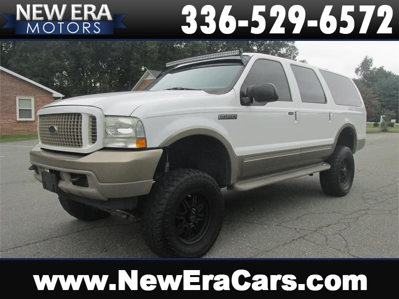 2003 Ford Excursion Eddie Bauer 4x4! Lifted! Winston Salem NC