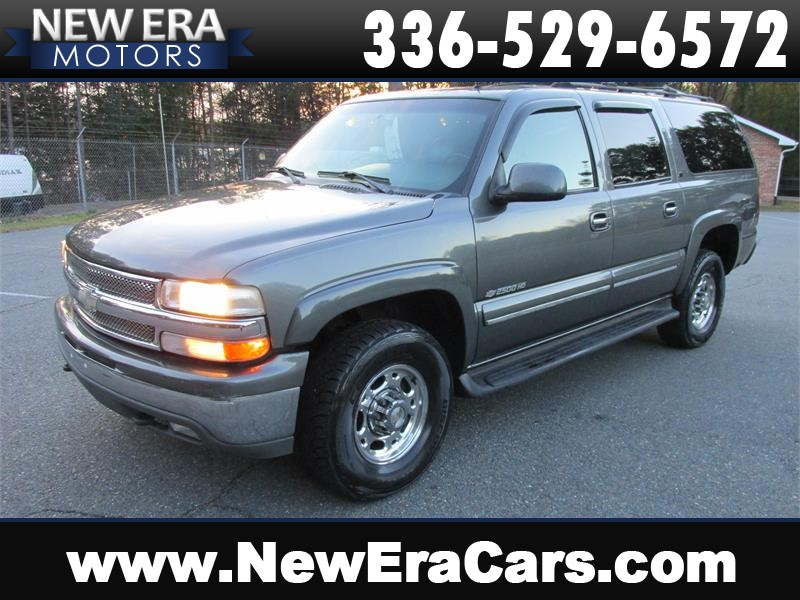 Chevrolet Suburban 2500 4WD Leather! 3rd Row! in Winston Salem