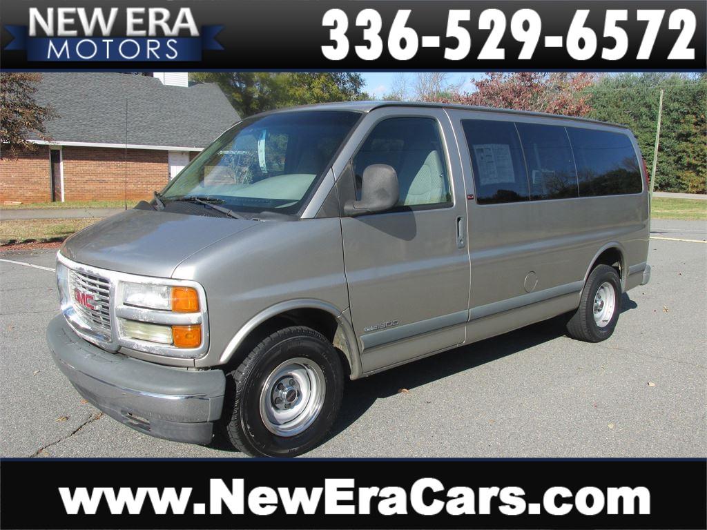 2001 GMC Savana G1500 Cheap! Work Van! Winston Salem NC