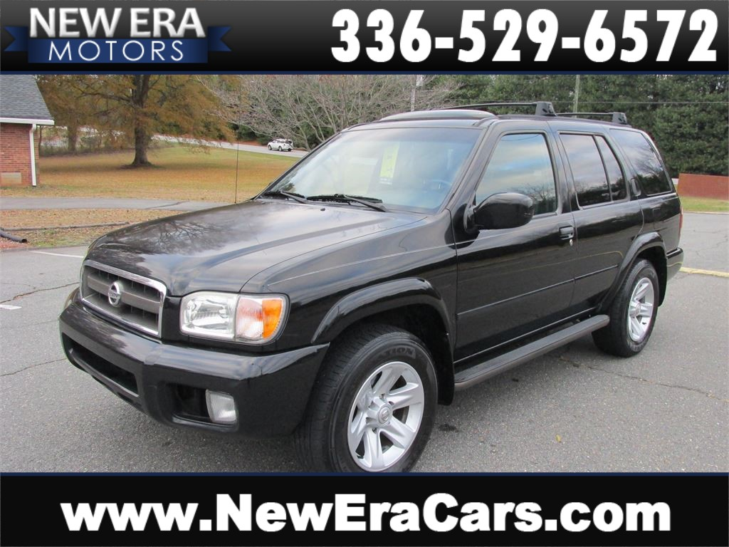 2003 Nissan Pathfinder LE 4WD Leather! Cheap! Winston Salem NC