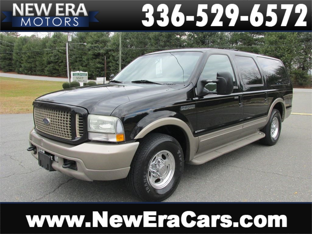 2003 Ford Excursion Eddie Bauer DIESEL Coming Soon Winston Salem NC