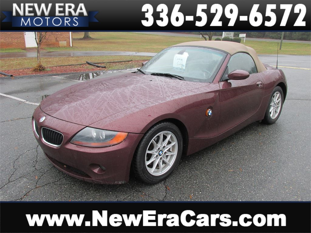 2003 BMW Z4 2.5i Leather! Convertible! Winston Salem NC