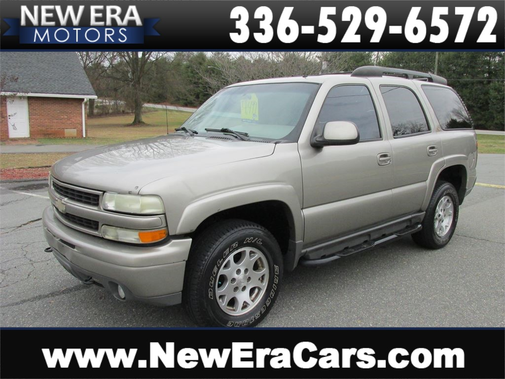 2002 Chevrolet Tahoe 4WD Z71 Leather! Winston Salem NC