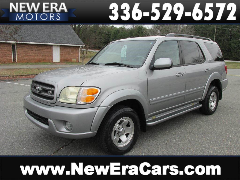 2004 Toyota Sequoia SR5 3rd Row! Cheap! Nice! Winston Salem NC