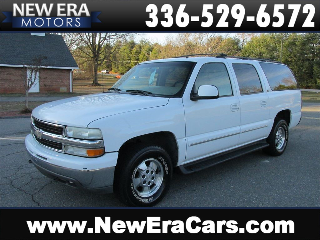 2002 Chevrolet Suburban 1500 3rd Row! Leather! Winston Salem NC