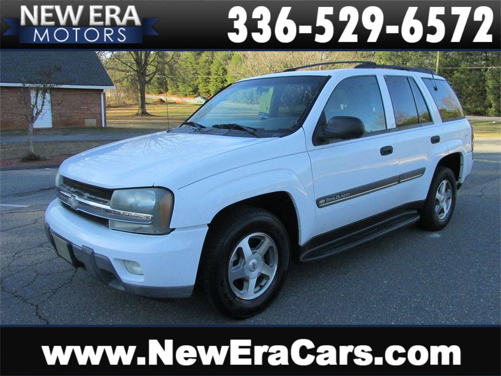 2002 Chevrolet TrailBlazer LS Leather! Cheap! Winston Salem NC