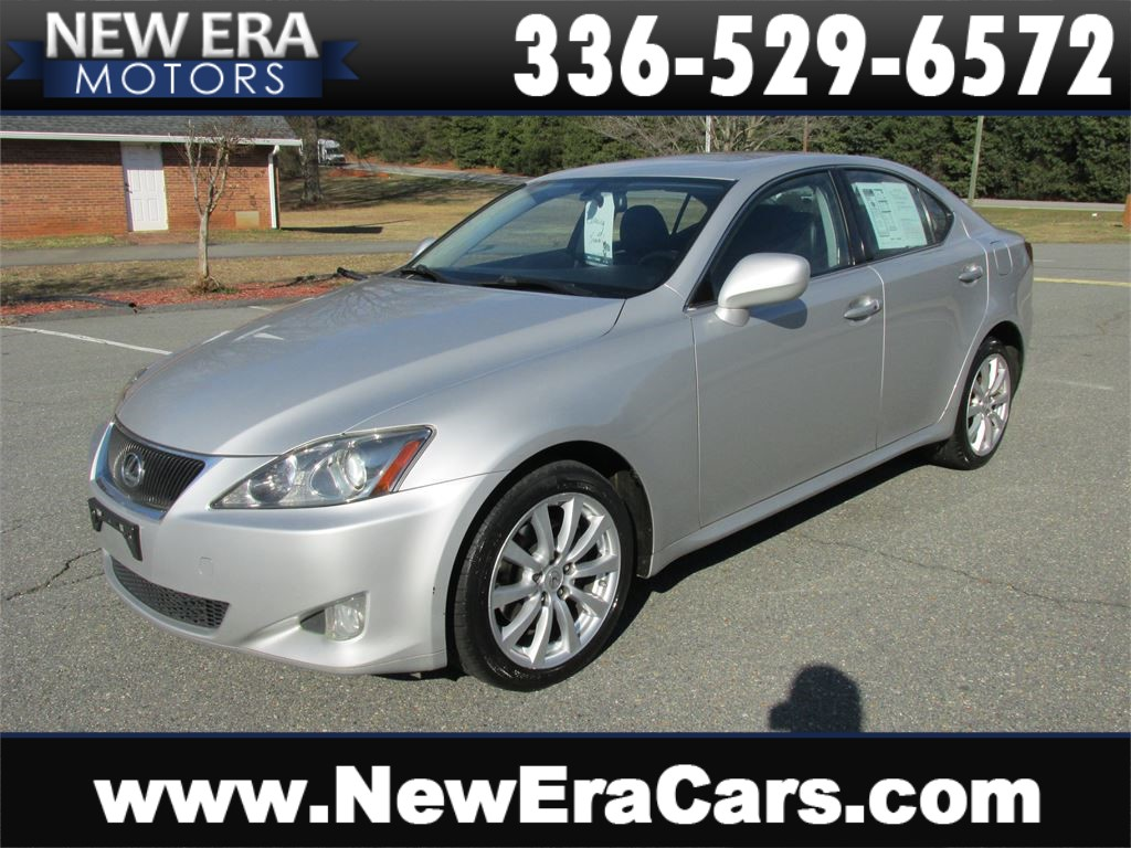 2006 Lexus IS IS 250 AWD Leather! Nice! Winston Salem NC