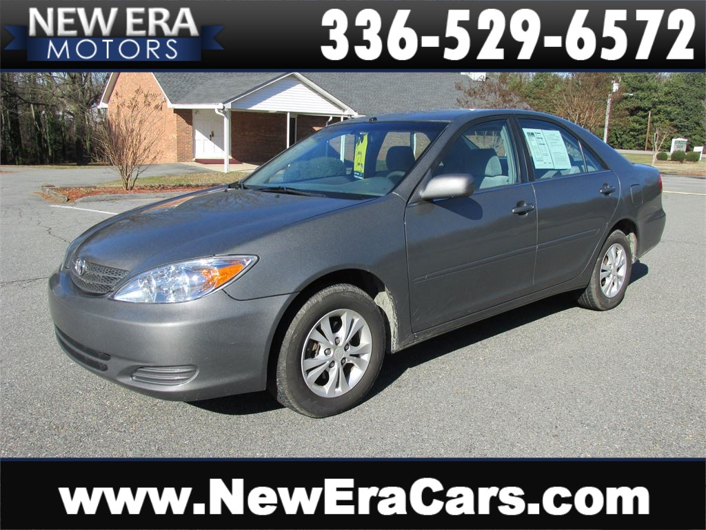 2004 Toyota Camry LE Clean! Nice! Back up Camera! Winston Salem NC