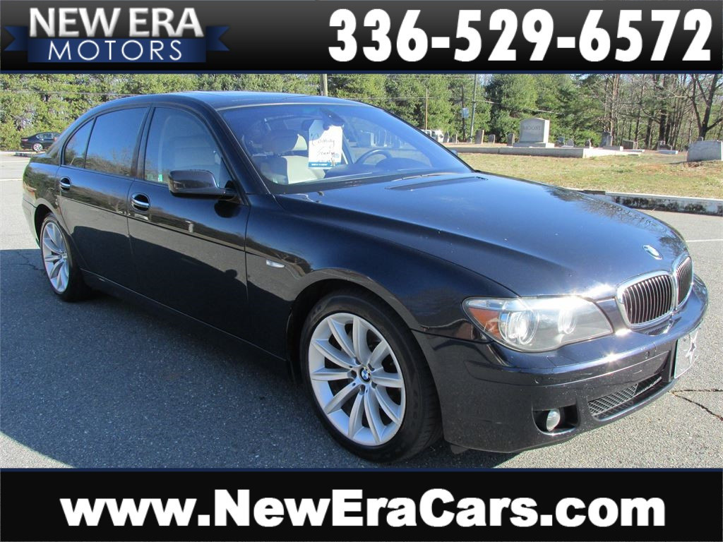 BMW 7-Series 750Li Leather! Nice! in Winston Salem