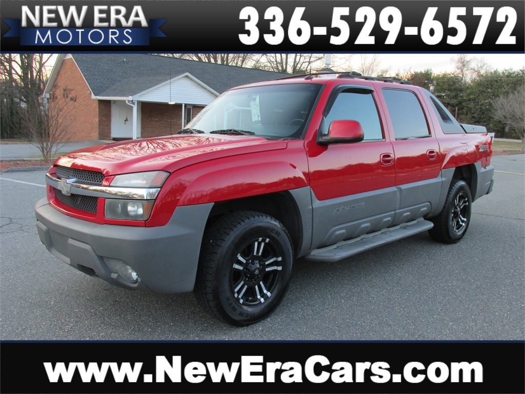 2002 Chevrolet Avalanche 1500 2WD Leather! Nice! Winston Salem NC