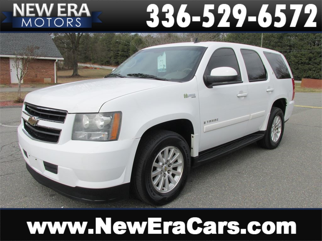 2009 Chevrolet Tahoe Hybrid Leather! NAV! DVD! 3rd Row! Winston Salem NC