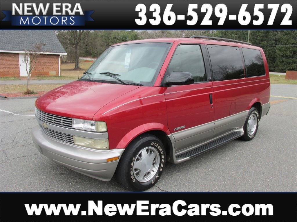 2001 Chevrolet Astro 2WD 3rd Row! Cheap! Winston Salem NC
