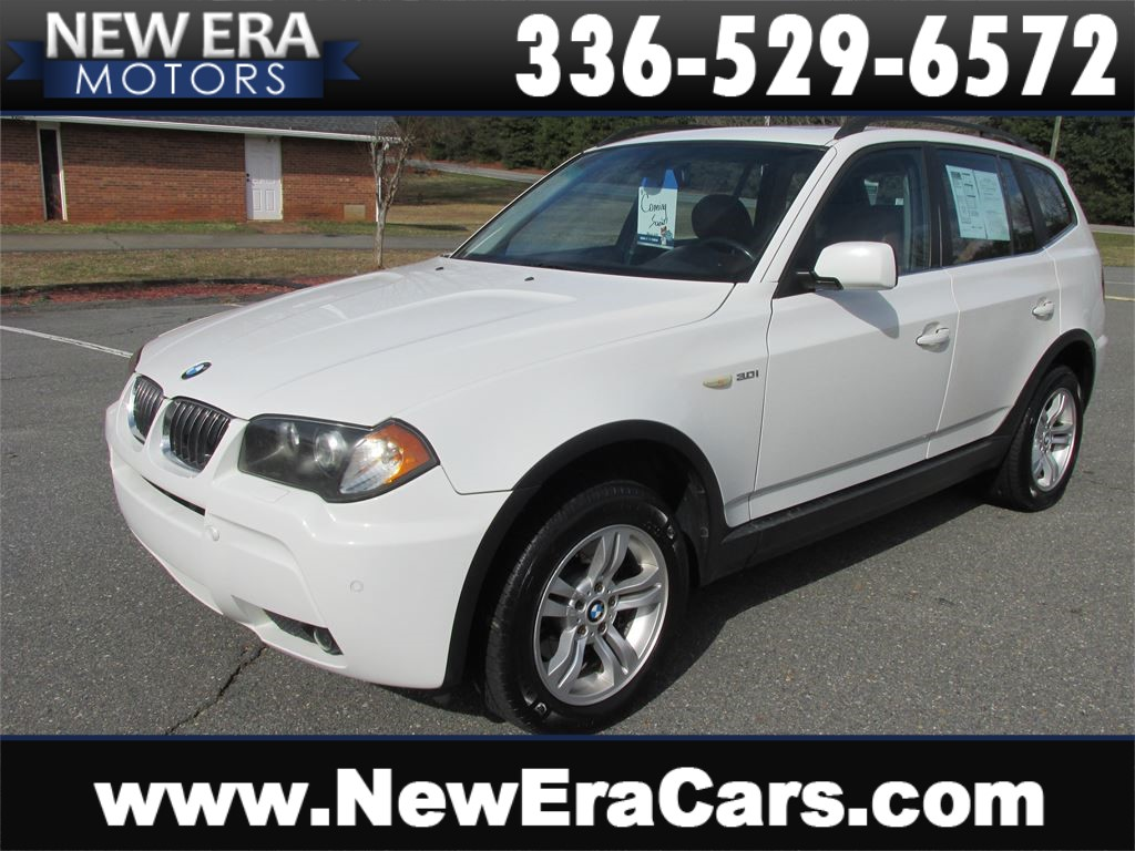 2006 BMW X3 3.0i Leather! AWD! Nice! for sale by dealer