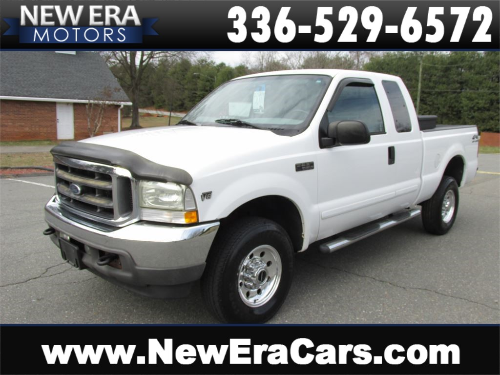 2002 Ford F-250 SD XLT SuperCab Long Bed 4WD Winston Salem NC