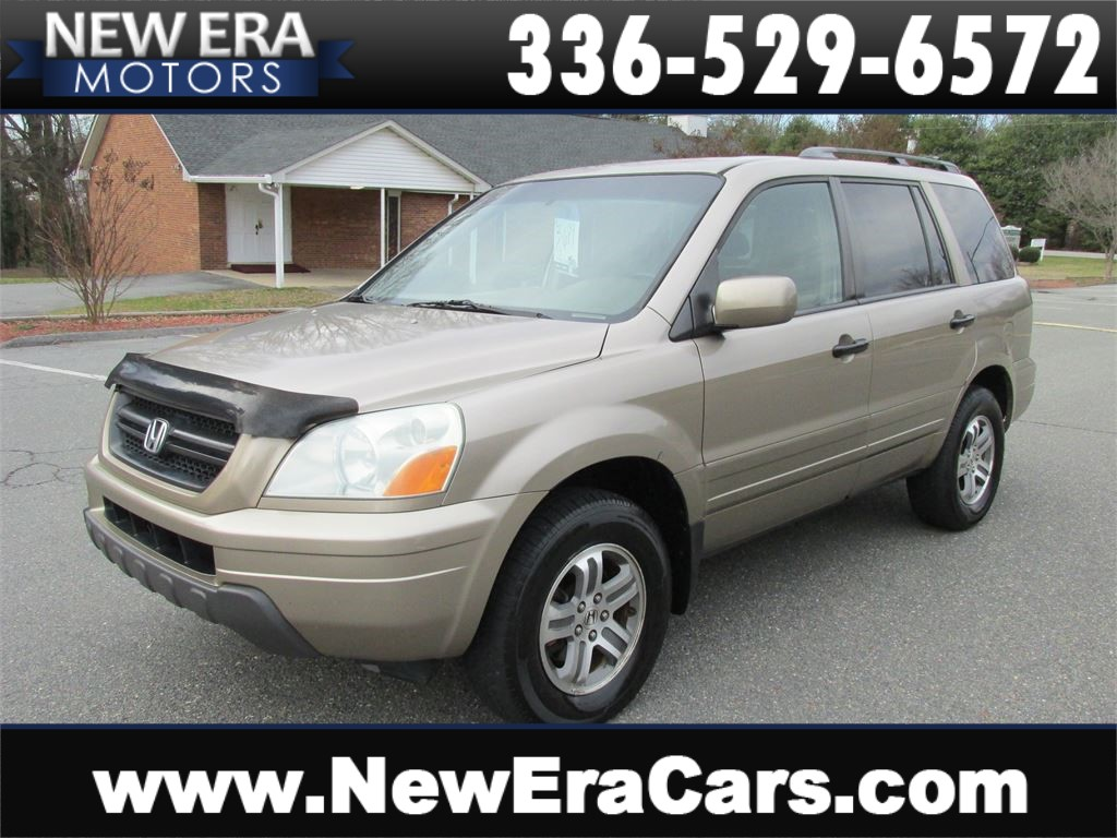 2004 Honda Pilot EX w/ Leather 3rd Row! Cheap! Winston Salem NC