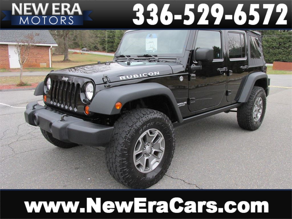 2013 Jeep Wrangler Unlimited Rubicon 4WD Manual Winston Salem NC