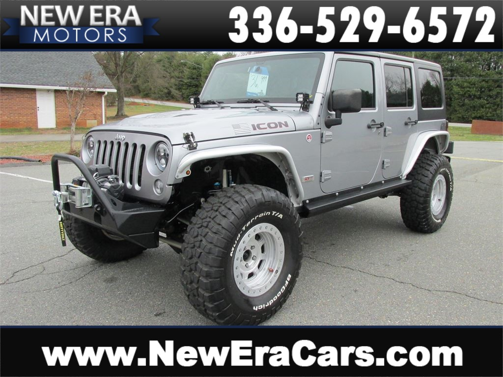 2013 Jeep Wrangler Unlimited Rubicon 4WD Winston Salem NC