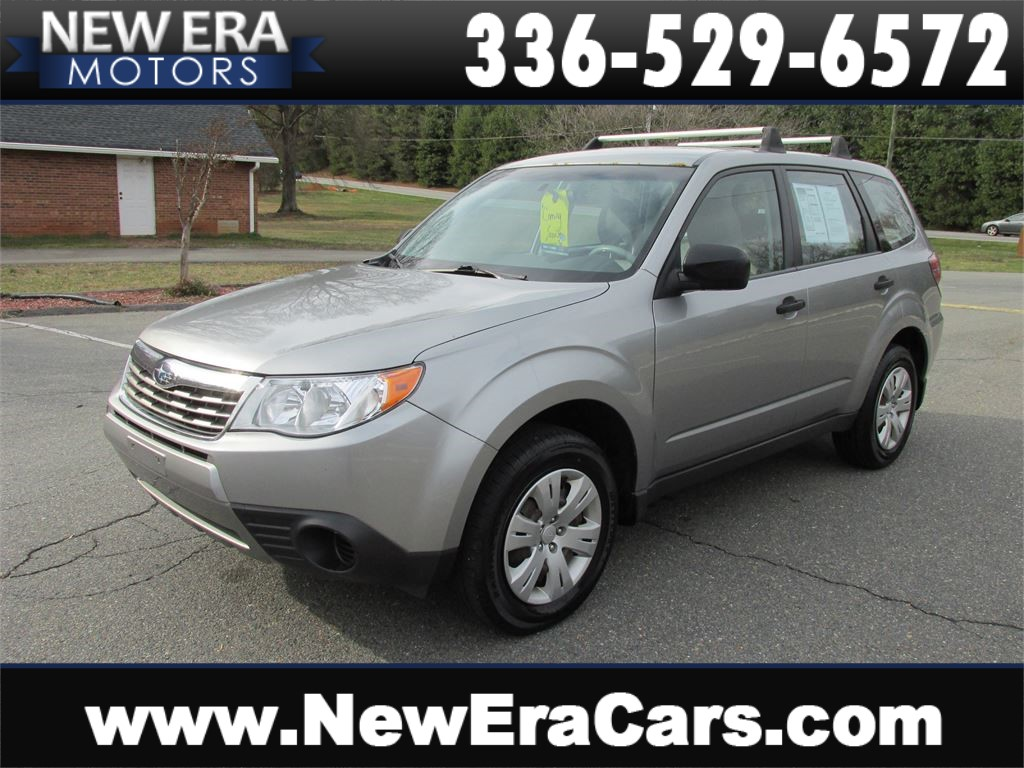2009 Subaru Forester 2.5X AWD! Manual! Winston Salem NC