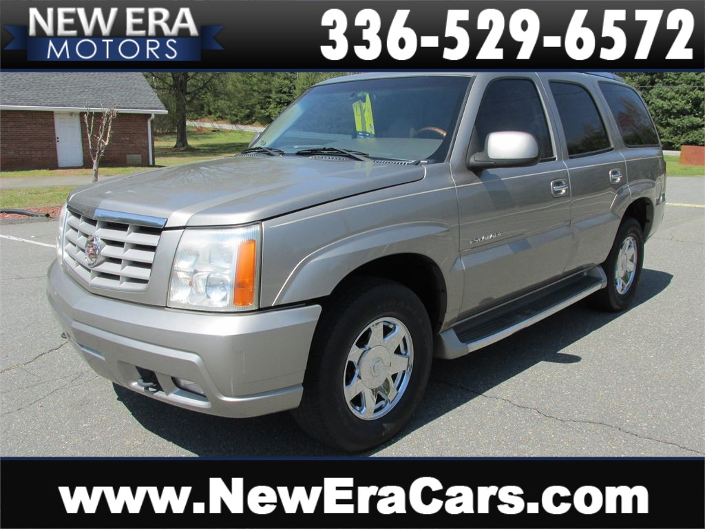 2002 Cadillac Escalade AWD Leather! CHEAP! Winston Salem NC