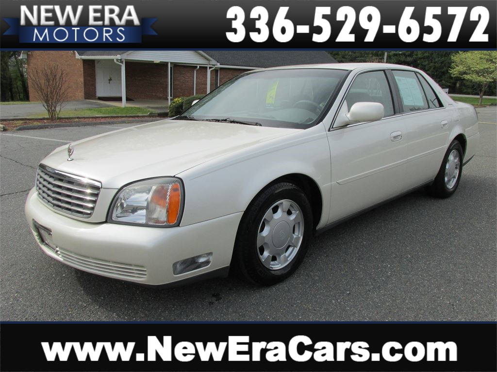 2000 Cadillac Deville Leather! Low Miles! Winston Salem NC