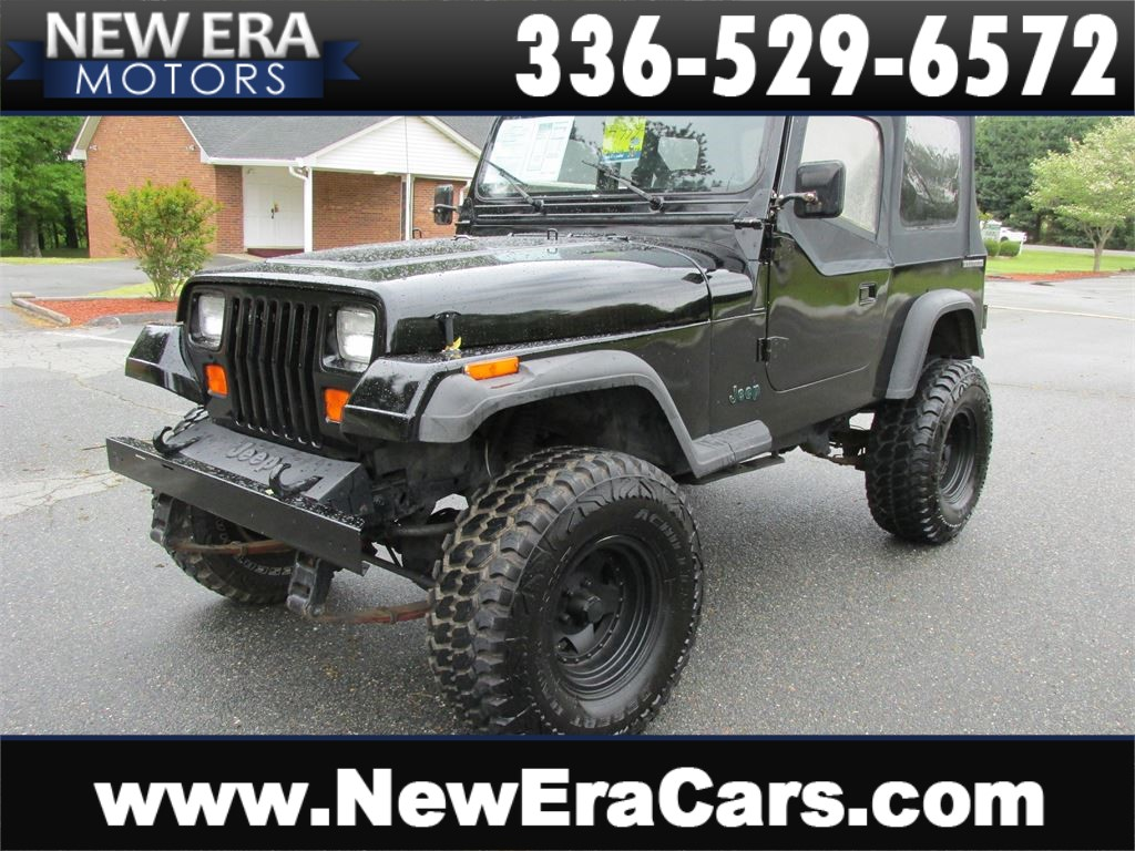 1989 Jeep Wrangler Lifted! Cheap! Winston Salem NC