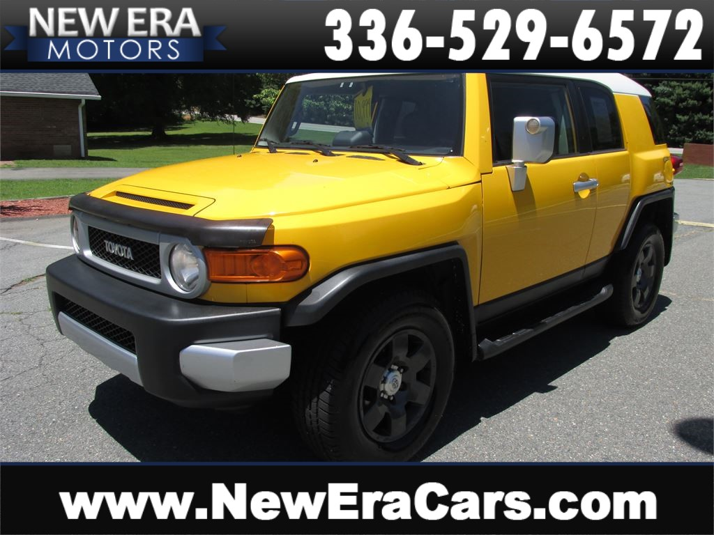 2007 Toyota FJ Cruiser 4WD Nice! Clean! for sale by dealer