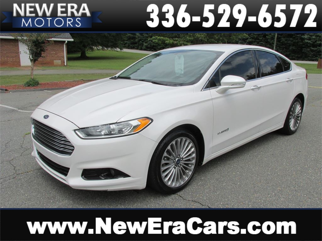 2014 Ford Fusion Hybrid Titanium Leather! Nice! for sale by dealer