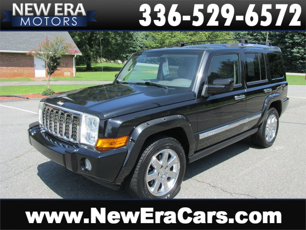 2009 Jeep Commander Overland 4WD Leather! for sale by dealer