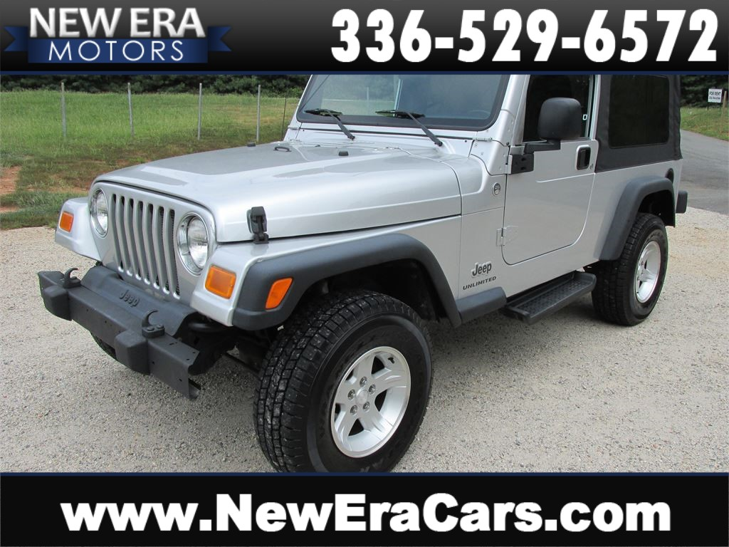 2006 Jeep Wrangler Unlimited LJ LOW MIILES 4x4! for sale by dealer