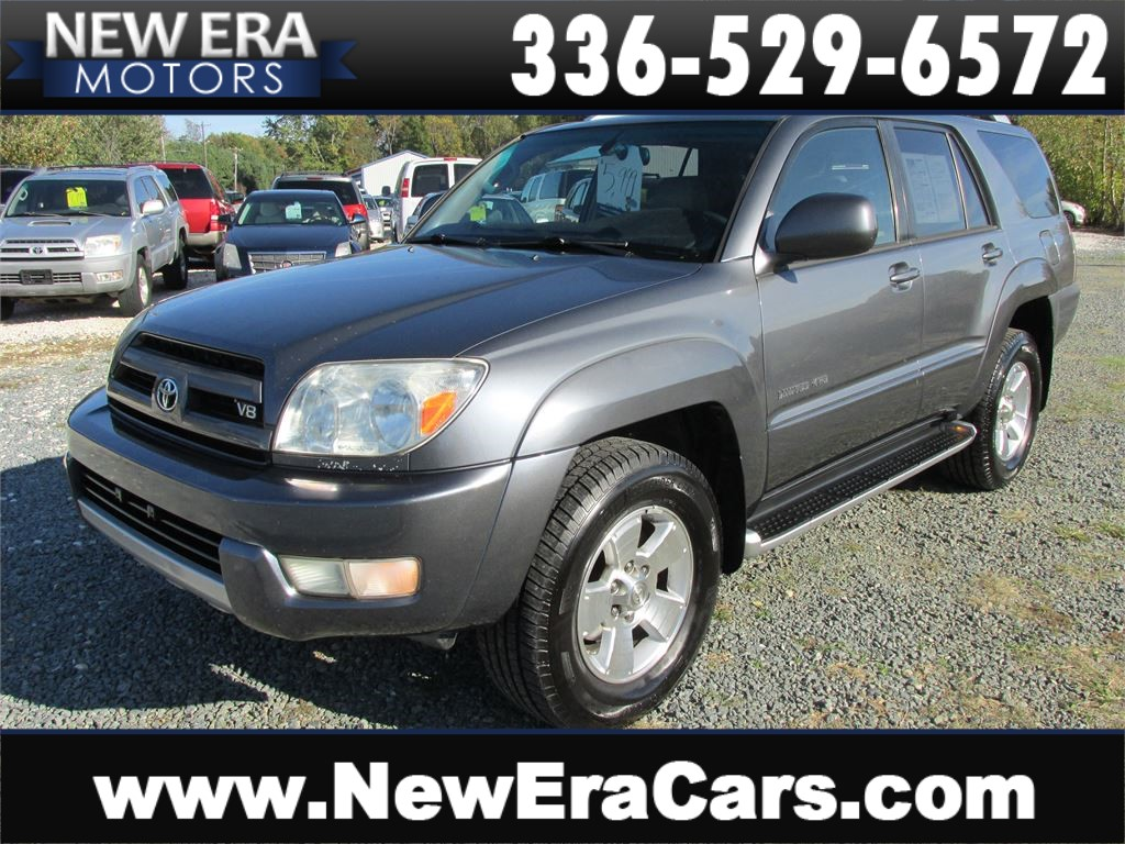 2004 Toyota 4Runner Limited  Leather! Nice! for sale by dealer