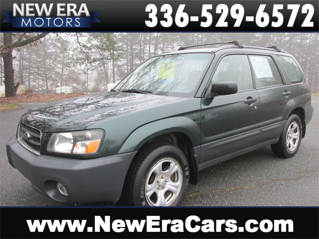 2005 Subaru Forester 2.5 X AWD! Timing Belt Replaced for sale by dealer