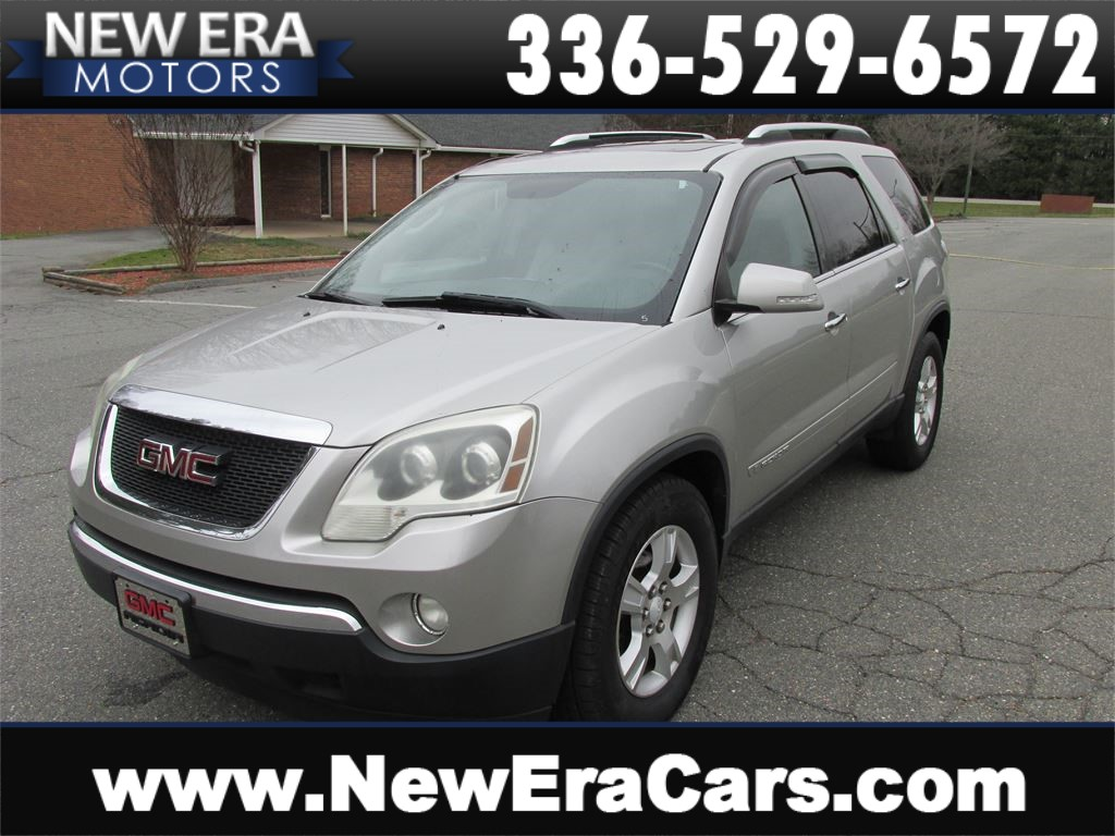 2008 GMC Acadia SLT-2 AWD Leather, 3rd Row for sale by dealer