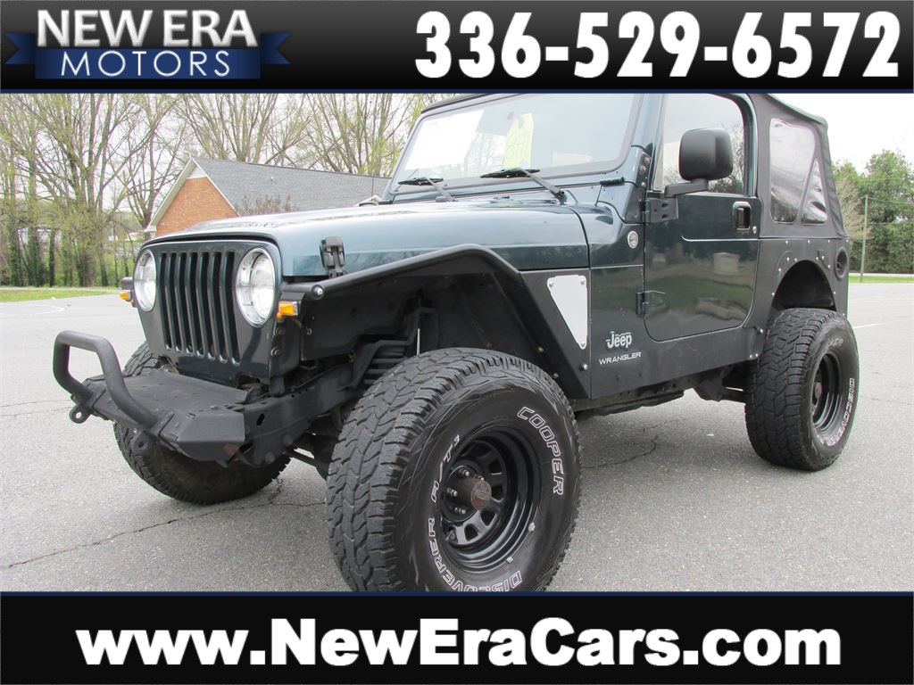2005 Jeep Wrangler X 6 Cyl. 33's 4WD for sale by dealer
